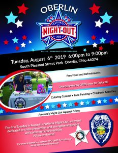 National Night Out Flyer